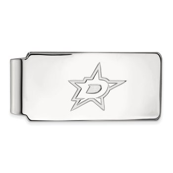 Sterling Silver Dallas Stars NHL Money Clip