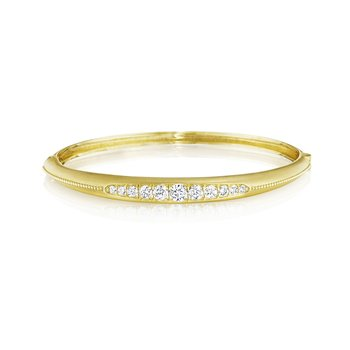 Graduated Diamond Bangle