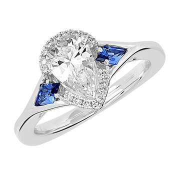 Bridal Ring-RE12675W10PS