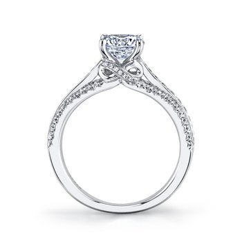 MARS 26099 Diamond Engagement Ring, 0.44 Ctw.