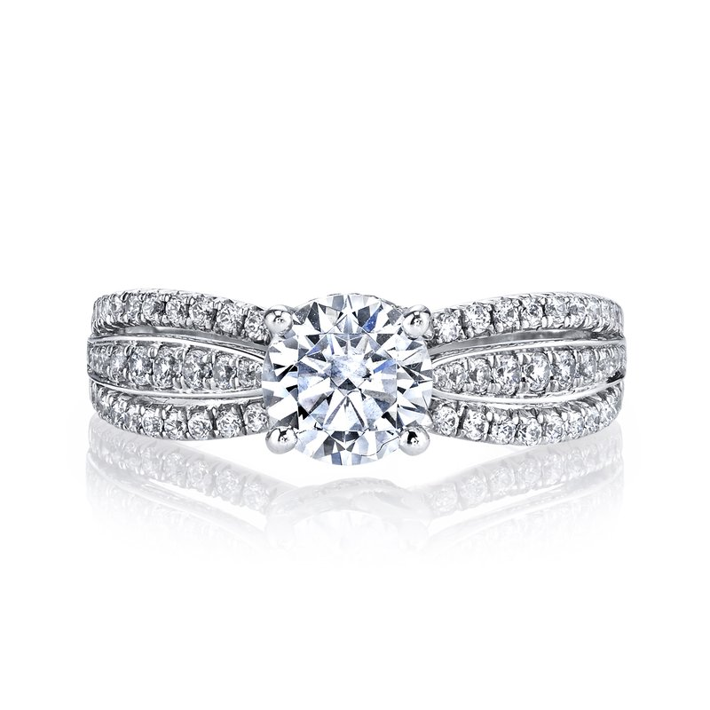 MARS Jewelry MARS 26099 Diamond Engagement Ring, 0.44 Ctw.