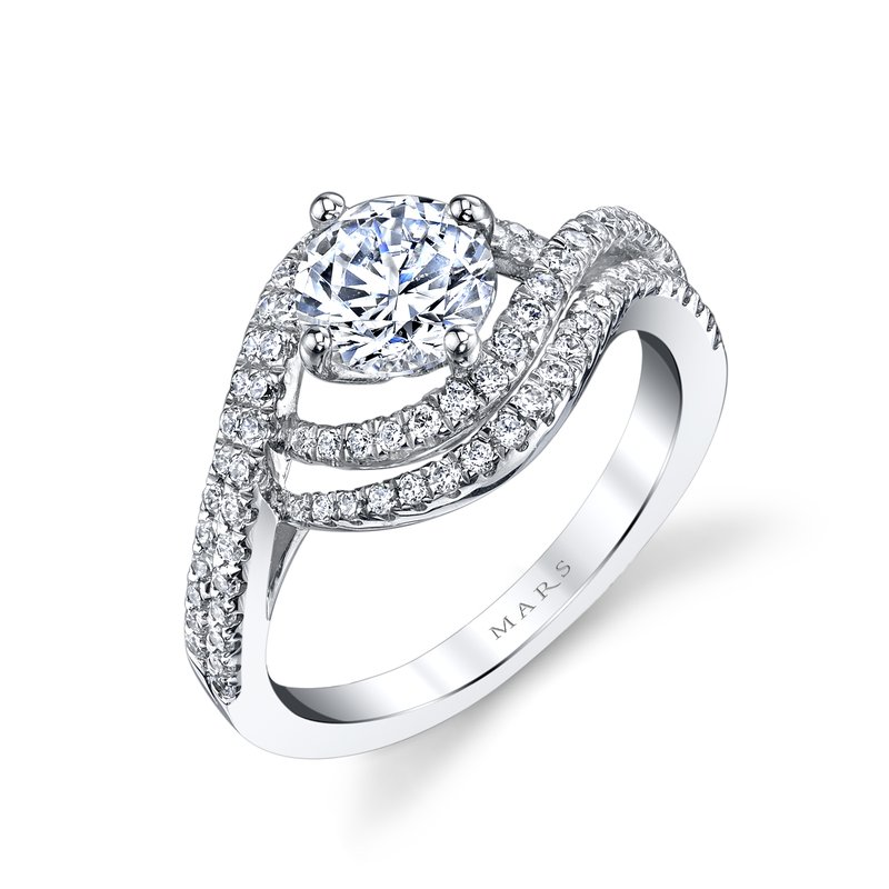 MARS Jewelry - Engagement Ring 25605
