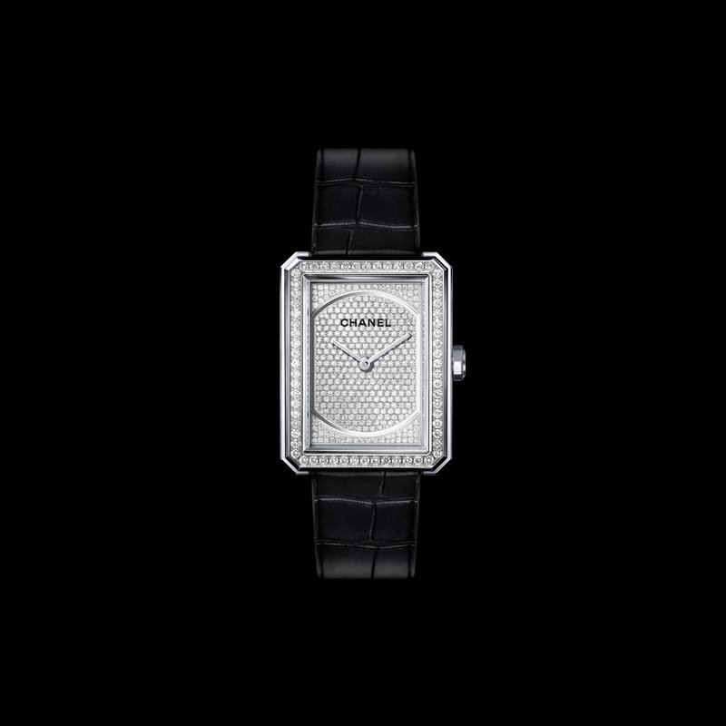 Chanel Boy.Friend Prestige White Gold with Diamonds
