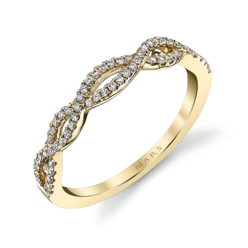 MARS Jewelry - Wedding Band 25162B-R20YG