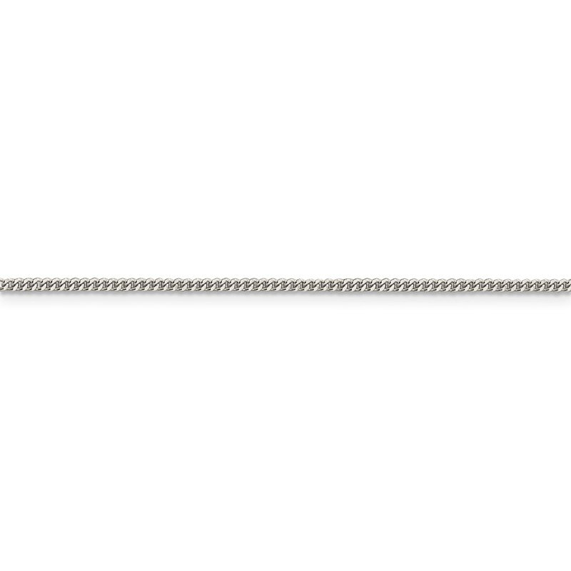 Quality Gold Sterling Silver 1.5mm Curb Chain