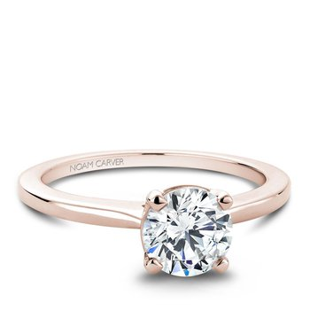 Noam Carver Modern Engagement Ring B018-01RA