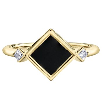 Onyx Ladies Ring