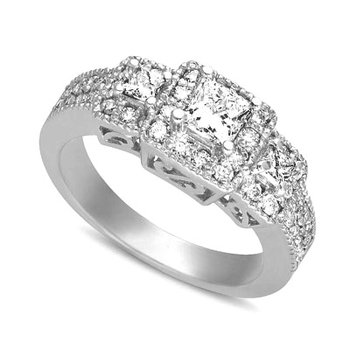 White Gold Fancy Ring