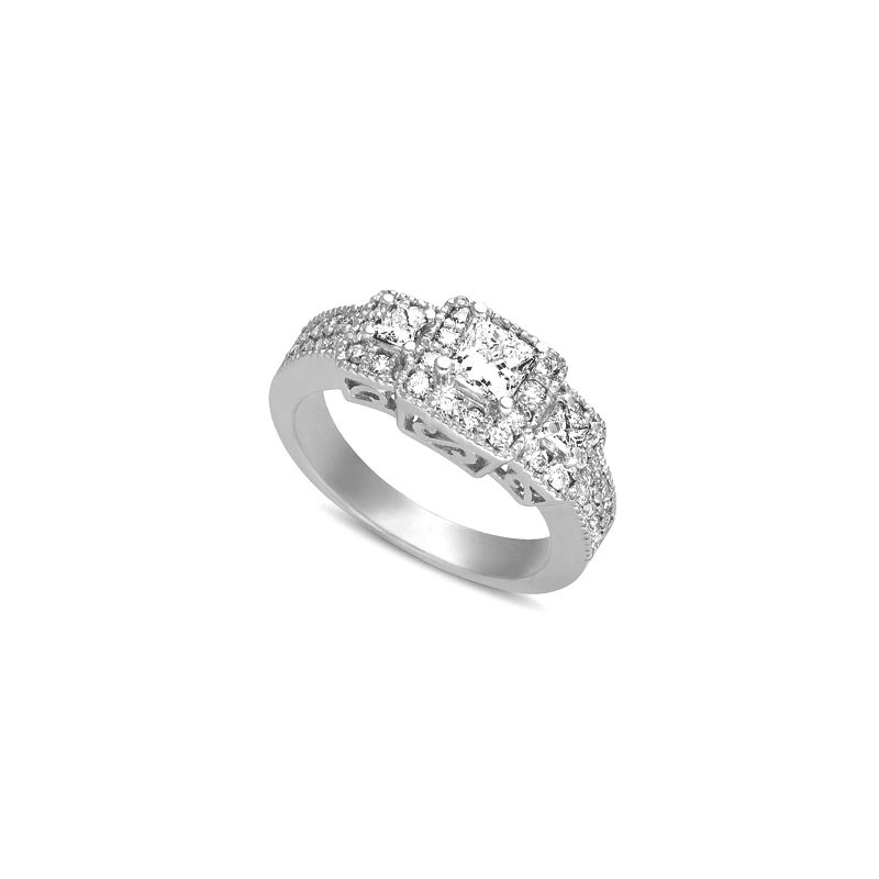 S. Kashi  & Sons White Gold Fancy Ring