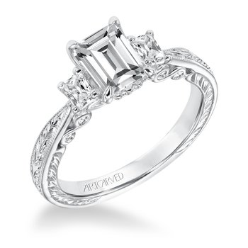 ArtCarved Iva Diamond Engagement Mounting