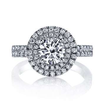 Diamond Engagement Ring 0.61 ct tw