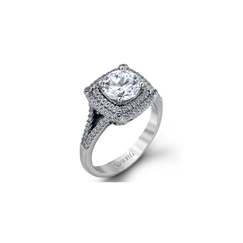 Davidson's Jewellers: Simon G MR2378-A ENGAGEMENT RING
