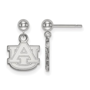 Gold Auburn University NCAA Earrings