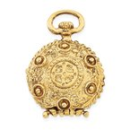 Quality Gold 14k Fancy Domed Locket