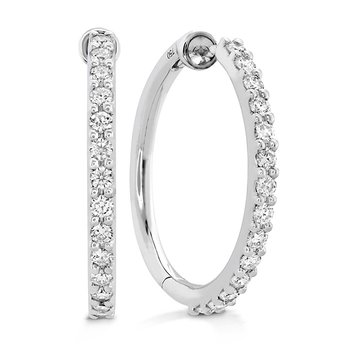 0.45 ctw. HOF Classic Diamond Hoop - Medium