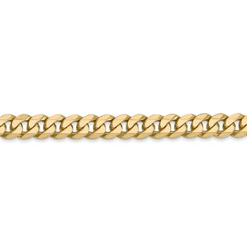 Leslie's 14k 5.75mm Flat Beveled Curb Chain