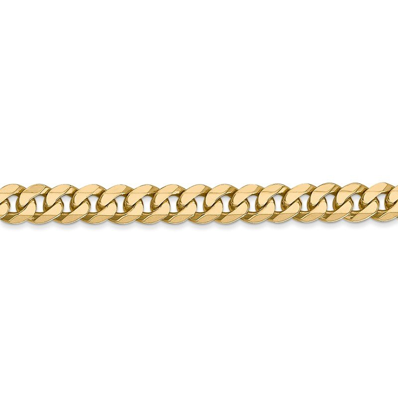 Leslie's Leslie's 14K 5.75mm Flat Beveled Curb Chain