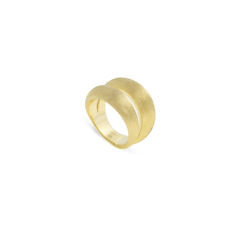 Marco Bicego Marco Bicego® Lucia Collection 18K Yellow Gold Double Dome Ring