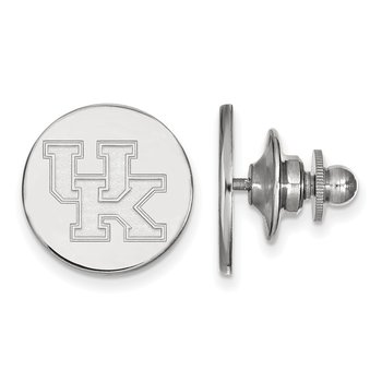 Sterling Silver University of Kentucky NCAA Lapel Pin