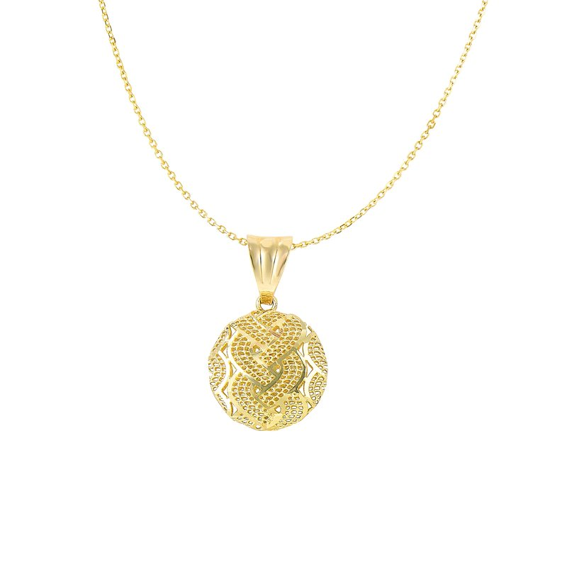 Royal Chain 14K Gold Geometric Necklace