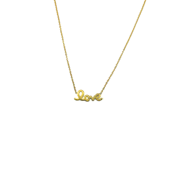Roberto Coin 18Kt Gold Love Pendant