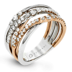 Zeghani ZR1467 RIGHT HAND RING