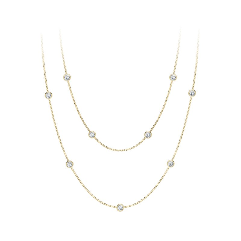 Forevermark The Forevermark Tribute™Collection Diamond Station Necklace