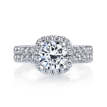 MARS 26452 Diamond Engagement Ring 1.70 Ctw.