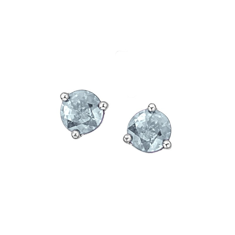 Diamond Days Aquamarine Earrings