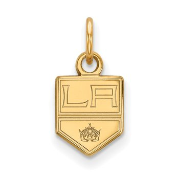 Gold Los Angeles Kings NHL Pendant