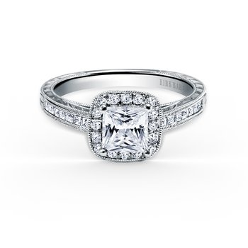 Award Winning Halo Diamond Engagement Ring