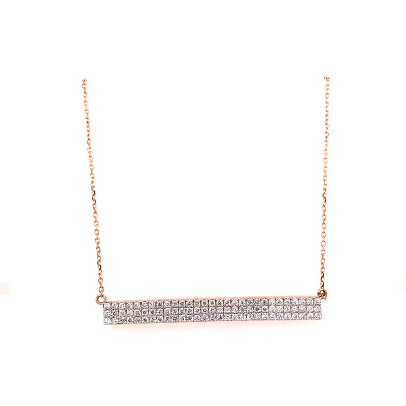Bare Diamonds 14k Gold Necklace