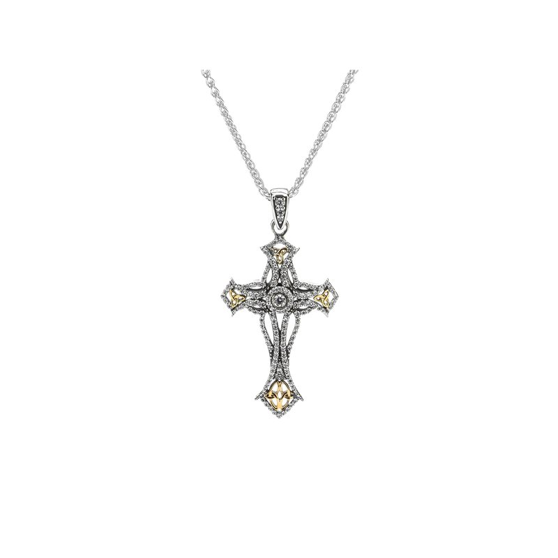 Keith Jack Cross Pendant