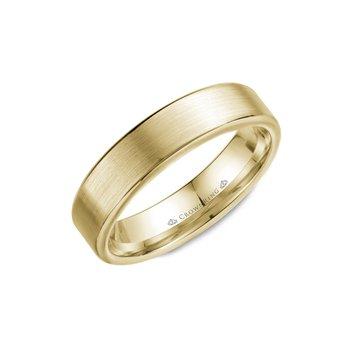 Cow Wedding Rings | Nash Jewellers Crownring Wb 054c6w