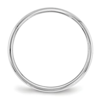 14KW 2mm Half Round Band Size 10