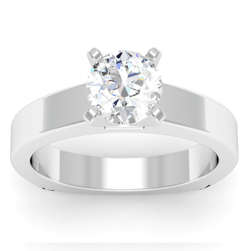 J.F. Kruse Signature Collection Squared Engagement Ring