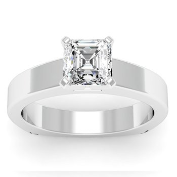Squared Engagement Ring