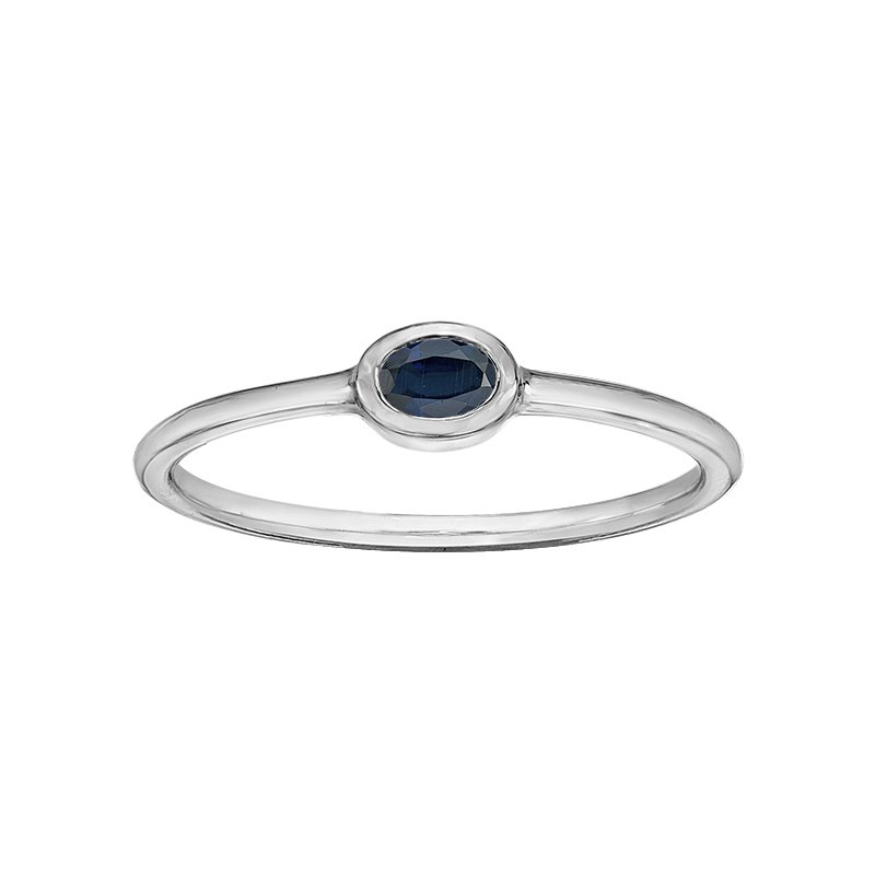 Lasting Treasures™ Sapphire Ladies Ring