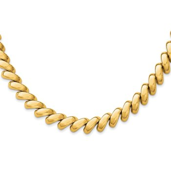 14k Polished San Marco Necklace