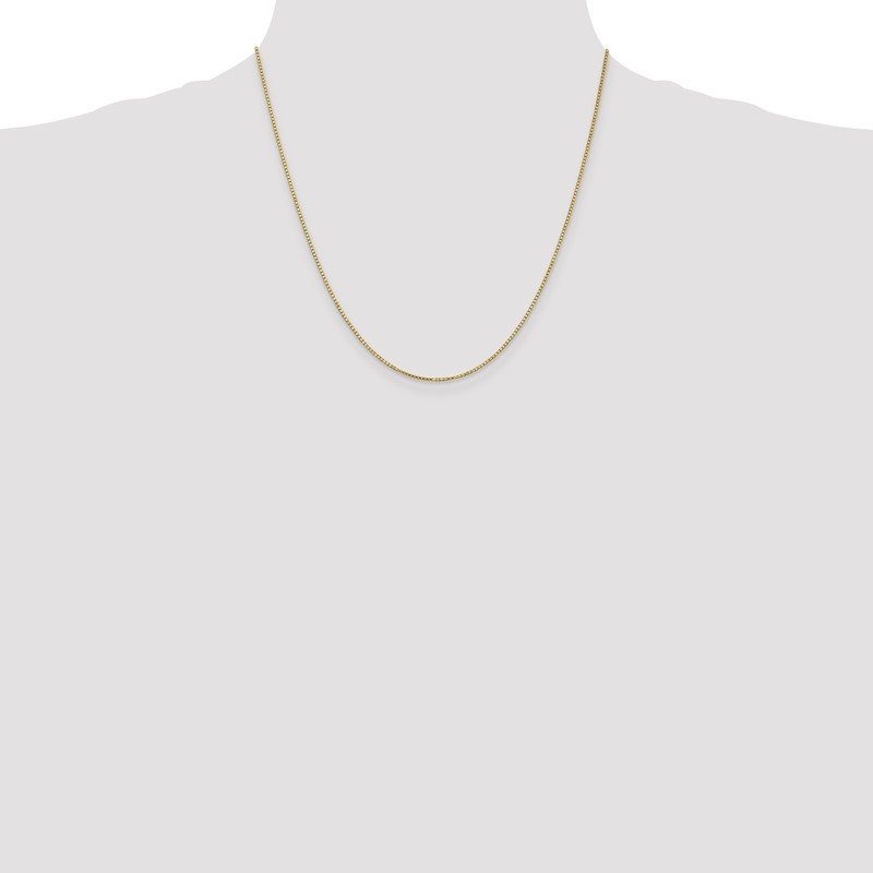 Quality Gold 10k 1.1mm Box Chain