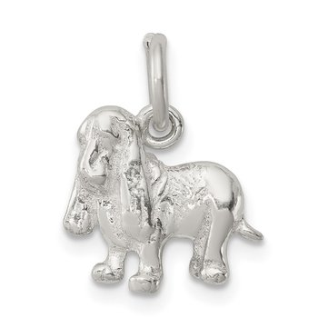 Sterling Silver Hound Dog Charm
