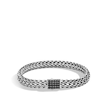 Chain Jawan 7.5MM Bracelet in Silver
