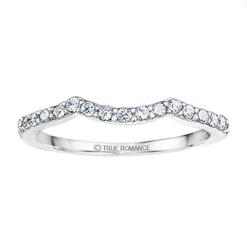 Round Cut Diamond Matching Wedding Band