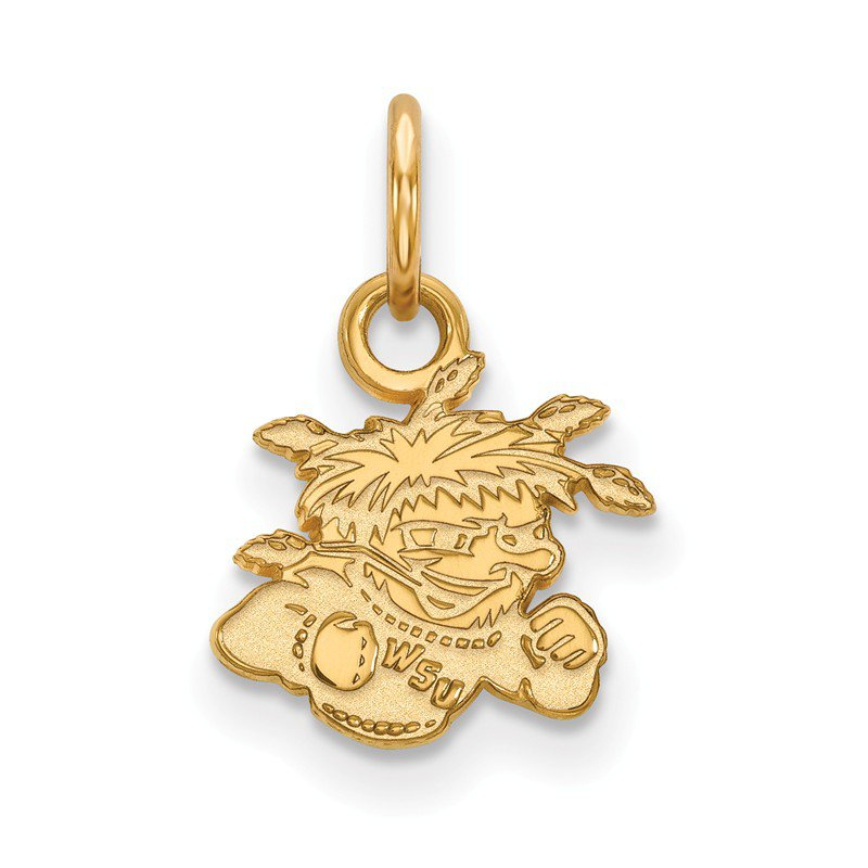 NCAA Gold Wichita State University NCAA Pendant