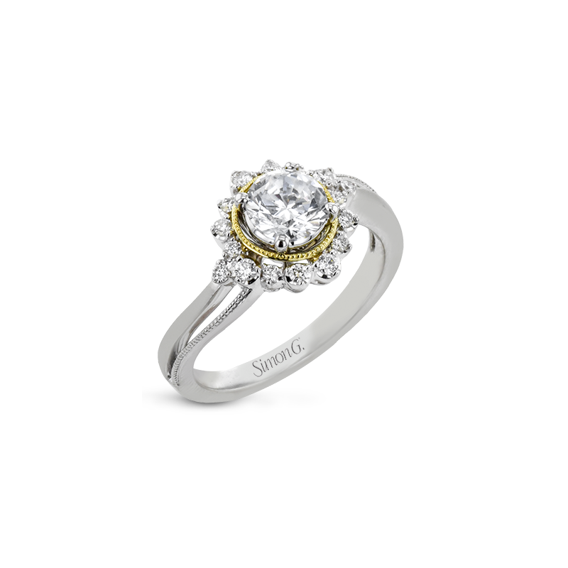 Simon G LR2744 ENGAGEMENT RING