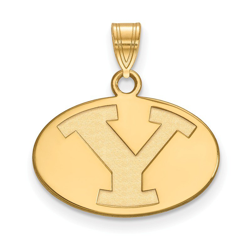 NCAA Gold Brigham Young University NCAA Pendant