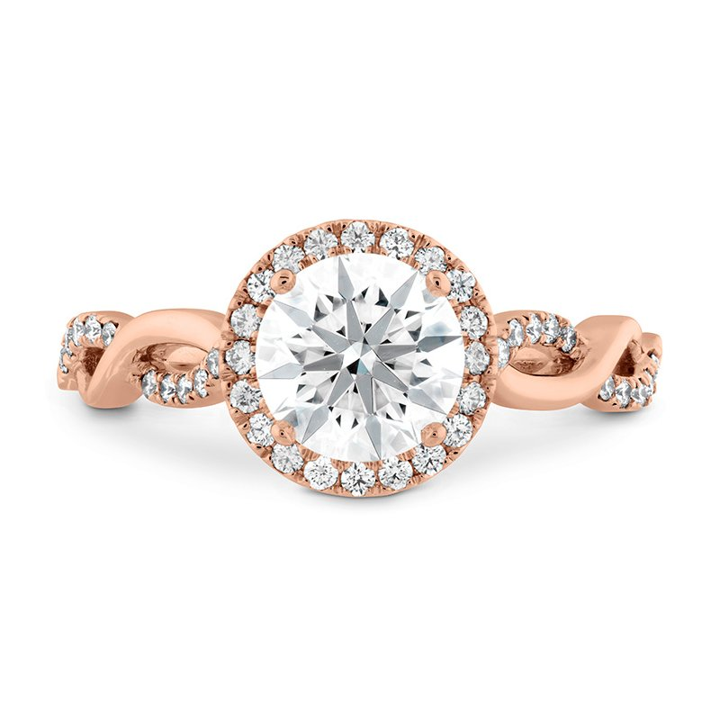 Destiny Lace HOF Halo Engagement Ring