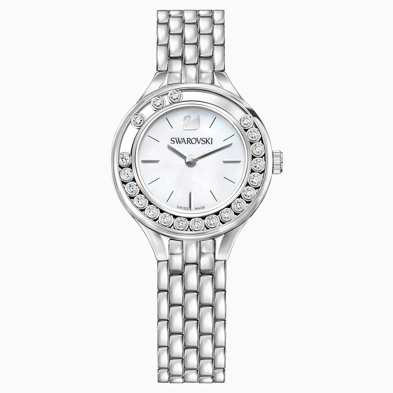Swarovski Lovely Crystals Watch, Metal bracelet, Stainless steel