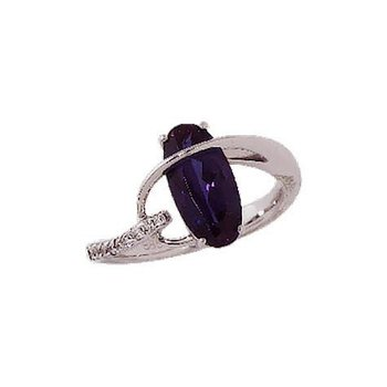 Alexandrite Ring-CR7258WAL