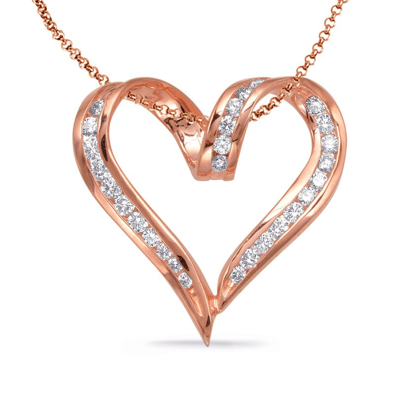 S. Kashi  & Sons Diamond Heart Pendant